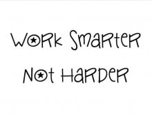 work smarter not harder-web