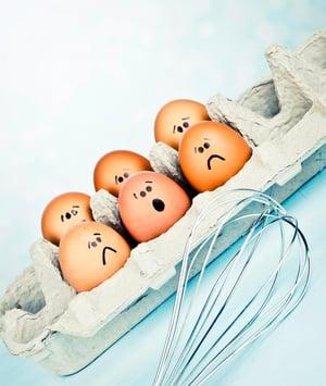 Anxiety eggs