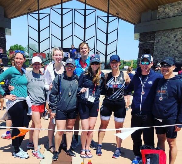 CAC Triathlon Group 2