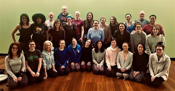 CAC Yoga Teacher Training group photo