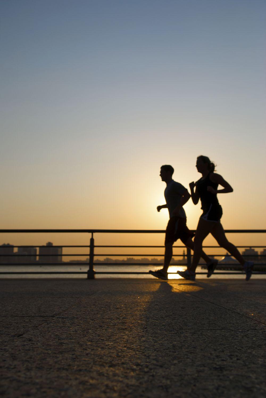 sunset_running