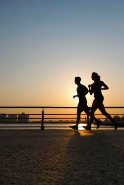 sunset_running