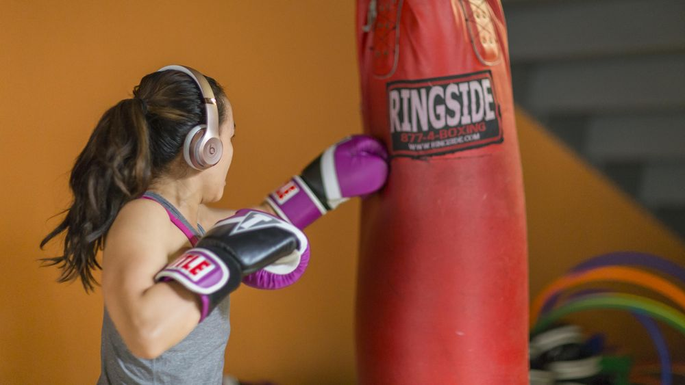 Focus workout boxing