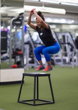 Hannah Lee Box Jump