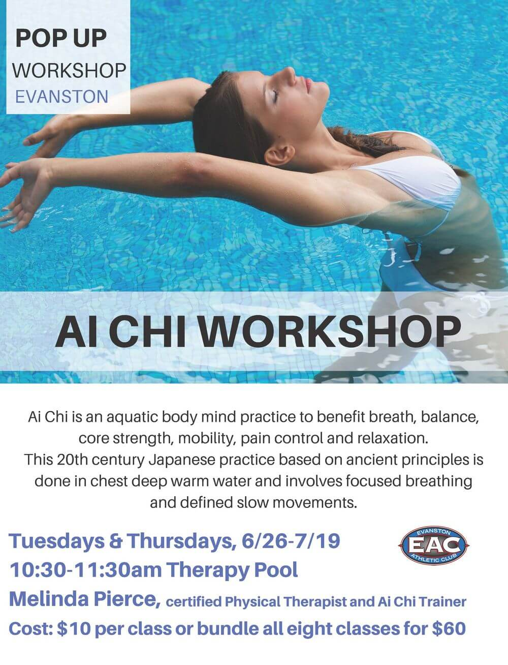 POP UP AI CHI WORKSHOP