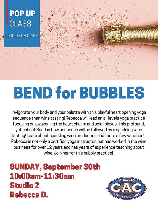 POP UP BEND for BUBBLES LSAC