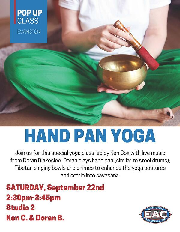POP UP HAND PAN YOGA EAC