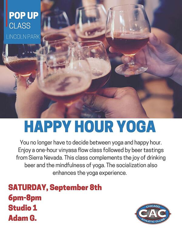 POP UP HAPPY HOUR YOGA LPAC