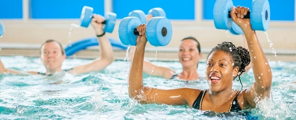 POP UP Pool Party Water Workout crop