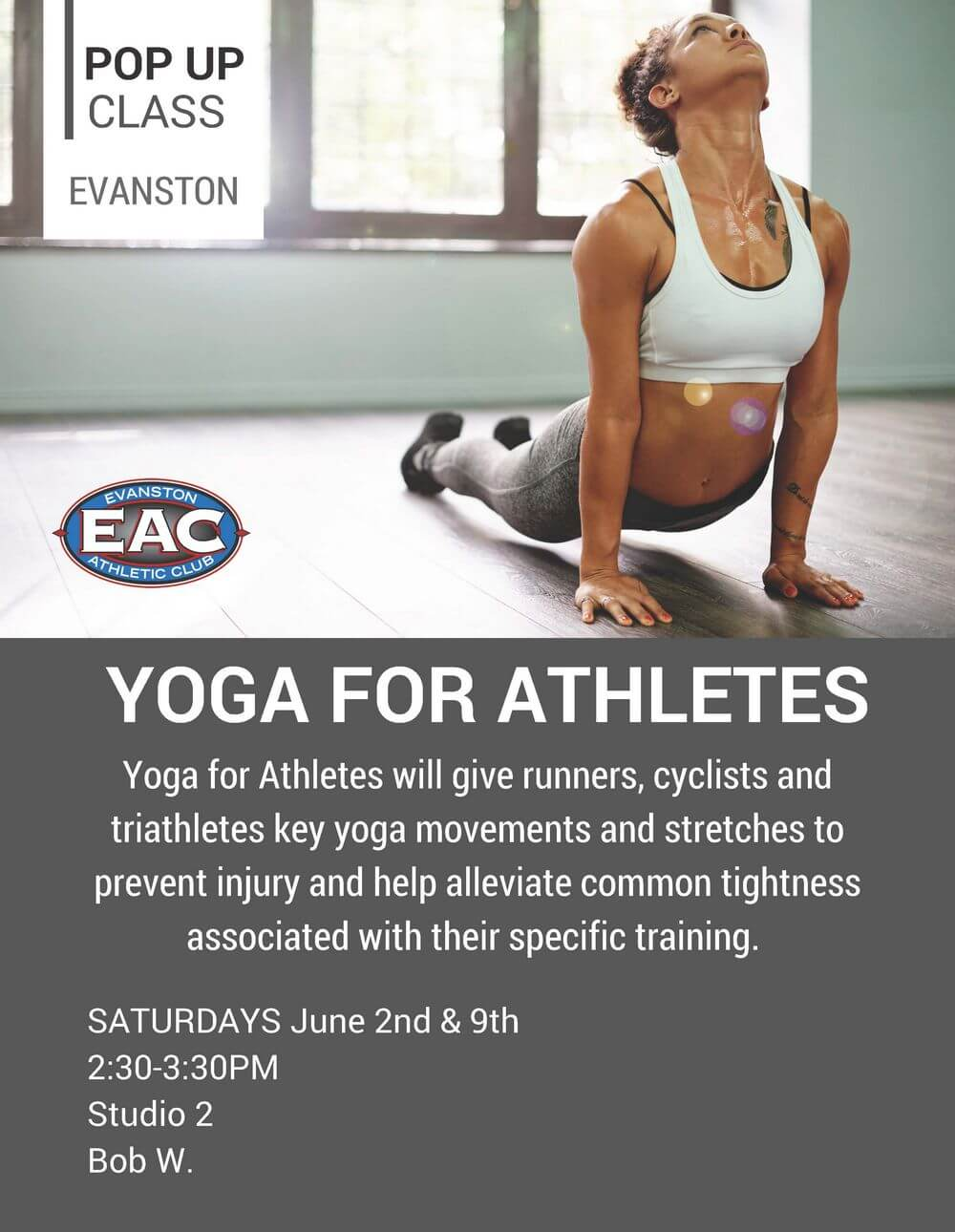 POP UP Yoga for Athletes EAC