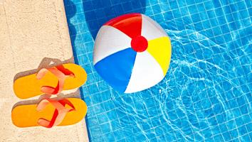 Pool Beach Ball