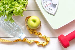 Weight loss nutrition scale