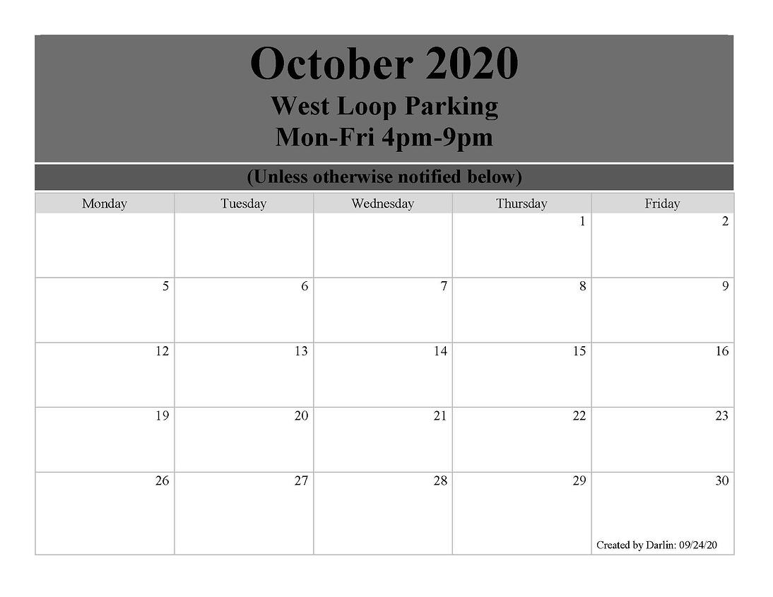 West Loop Calendar October 2020 (1)