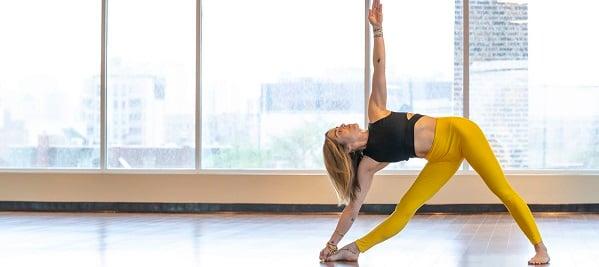 Yoga Triangle Pose header