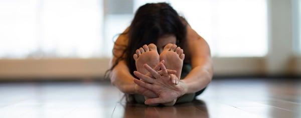 forward fold yoga