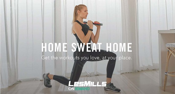lesmills home sweat home