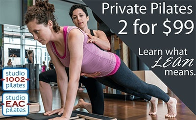 2 for $99 Private Pilates - Learn what lean means