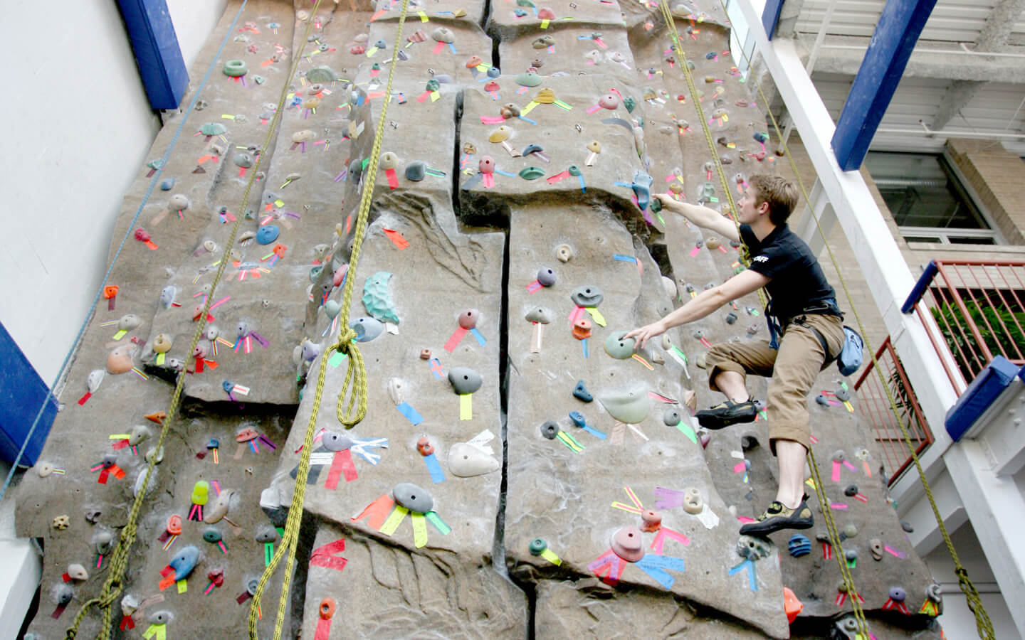 Climbing Wall | Chicago Athletic Clubs